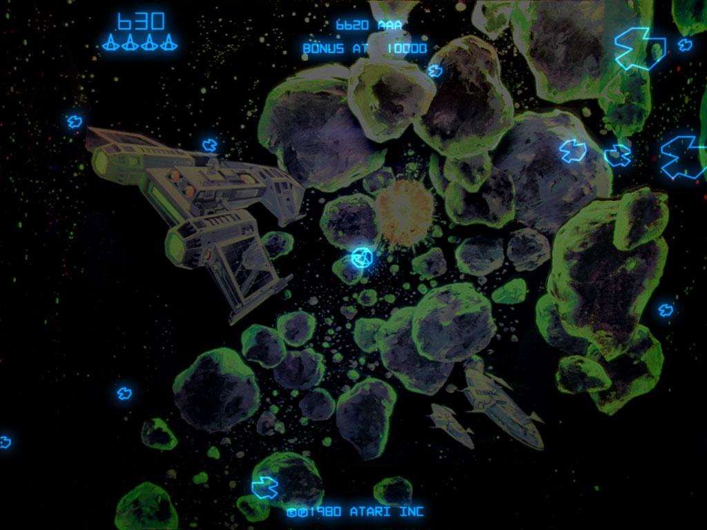 asteroids arcade vector - photo #28