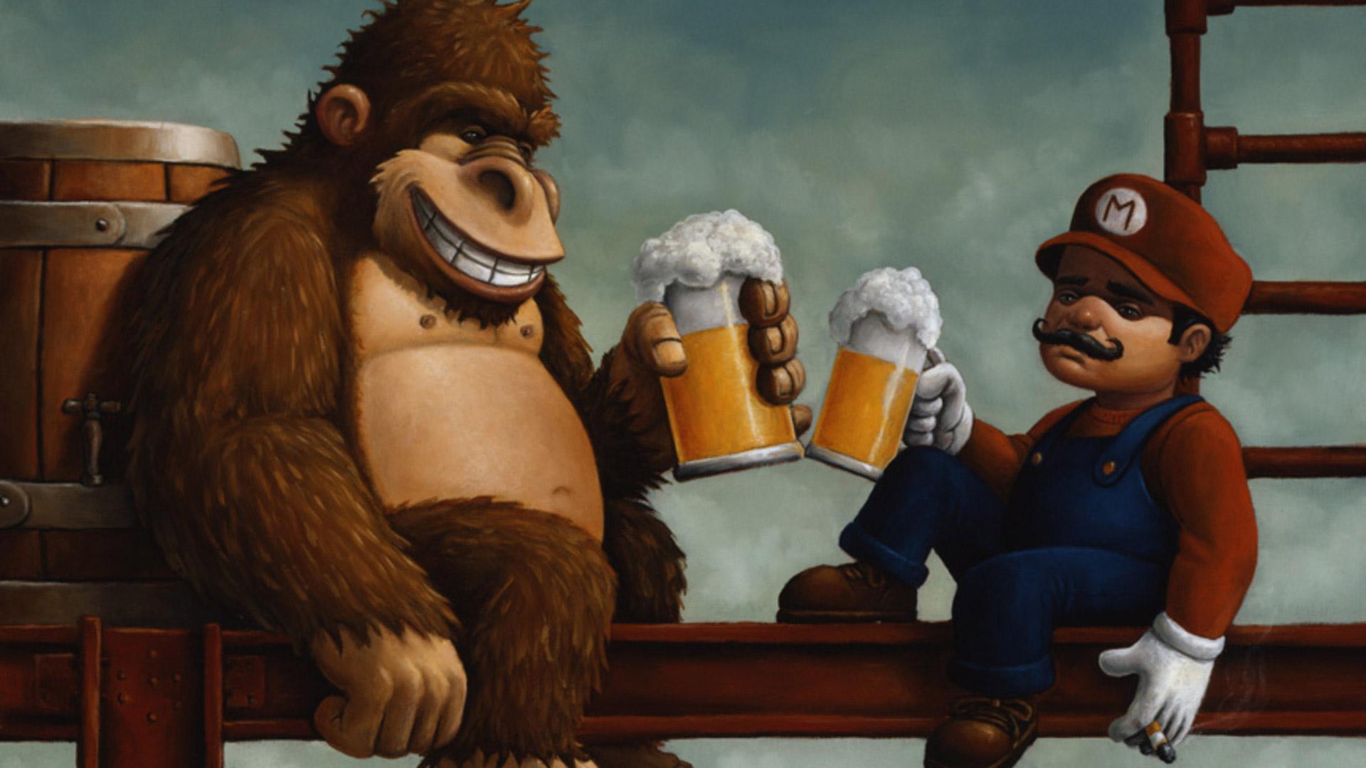 Cool Wallpaper Home Screen Donkey Kong - wallpaper-donkey-kong-chill-1920x1080  Pic_549314.jpg