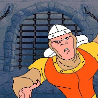 Dragon's Lair - Amiga Animations - Escape from Singe's Castle Trailer