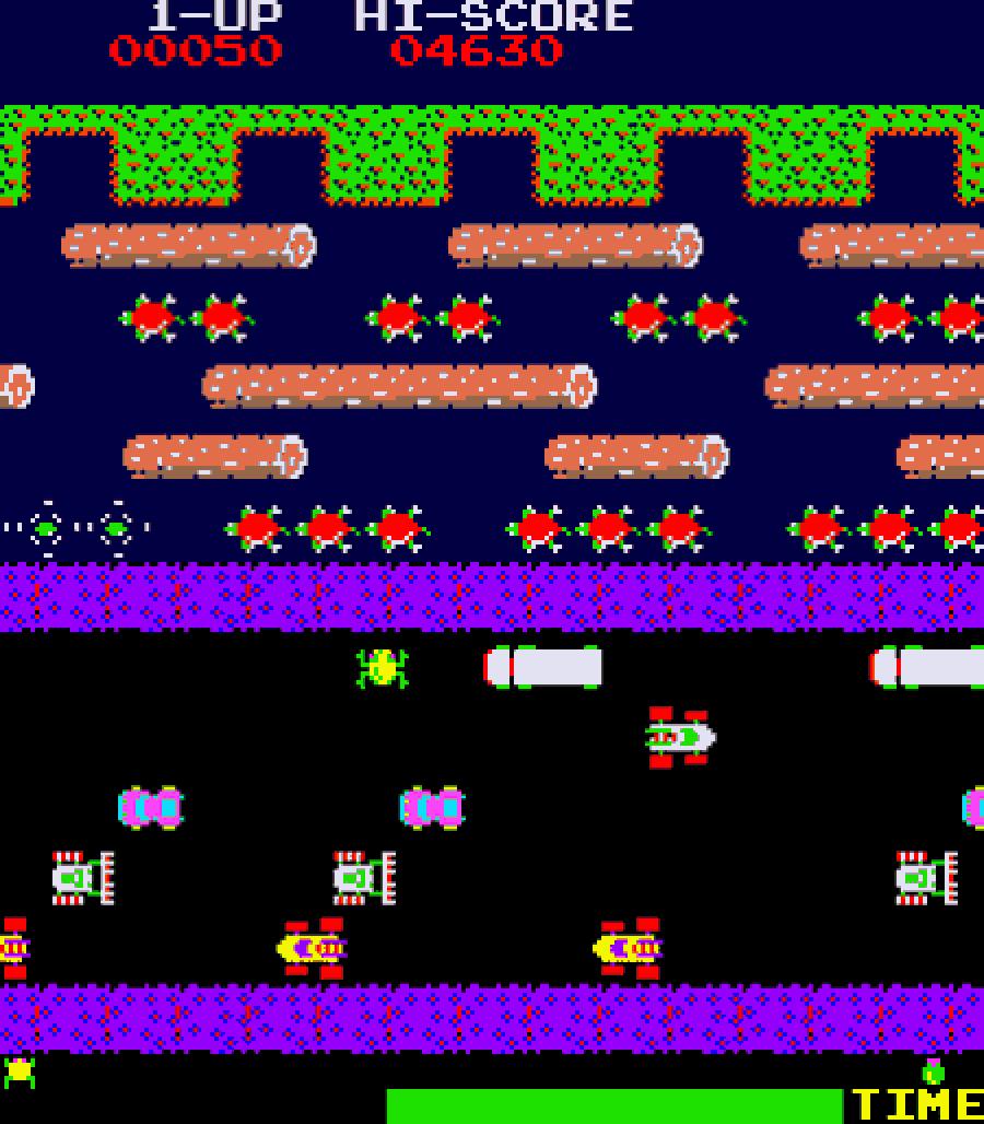frogger levels