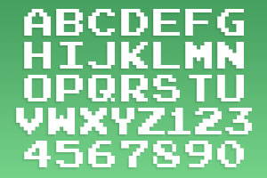 Pac Man Fonts Fonts And Type Faces Of The Classic 1980 Namco Arcade Game