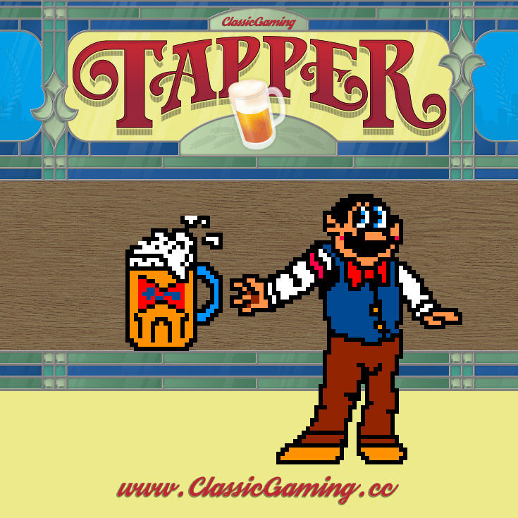 Sounds and Music | Tapper Arcade Game Sound Effect and Music