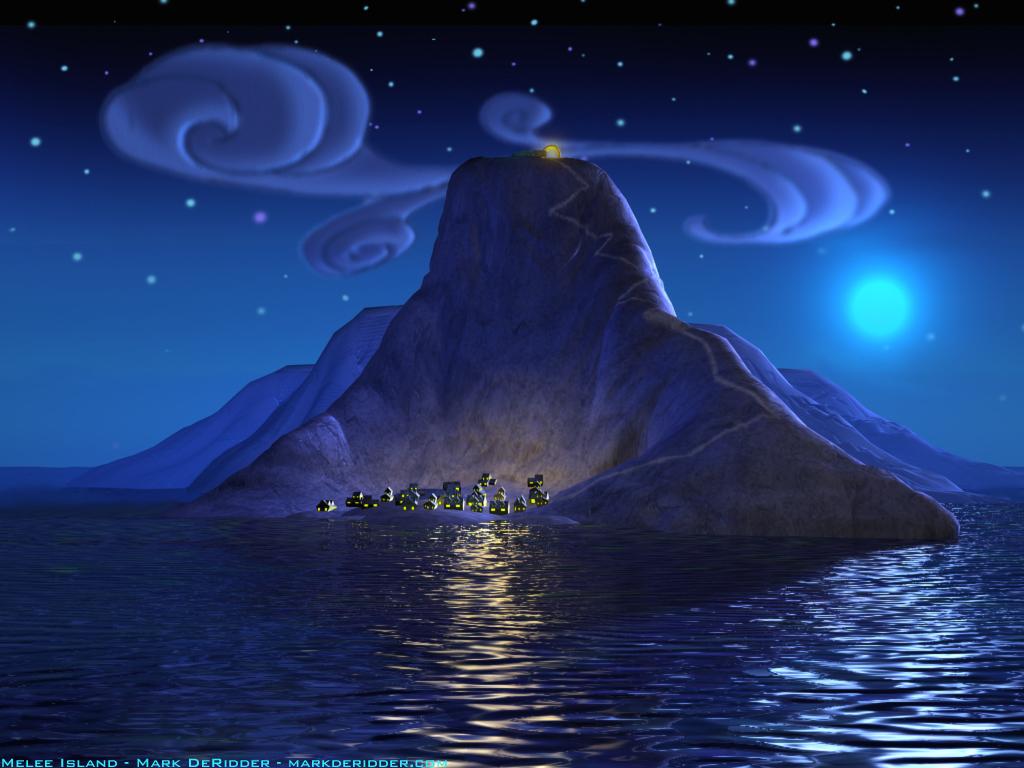 Monkey Island Melee Island