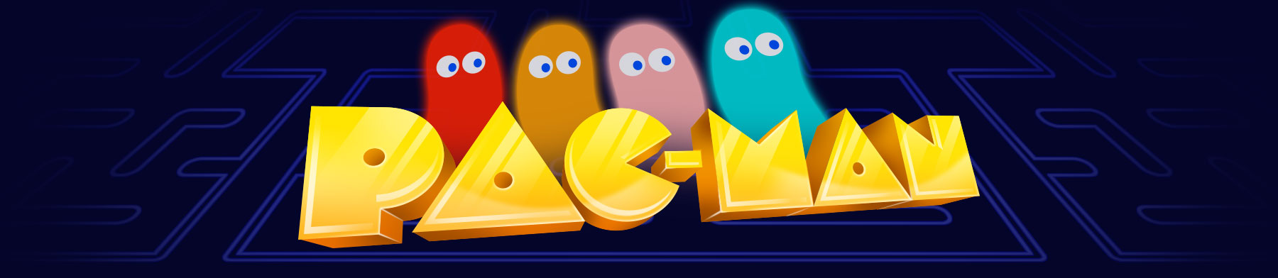 10x6.5ft Vinyl Pac-Man Theme Background Blue Maze Black Background for Game Photography Background Boy Interior Decoration Wallpaper LYZY0947 for Party Decoration Birthday YouTube Videos School Photos